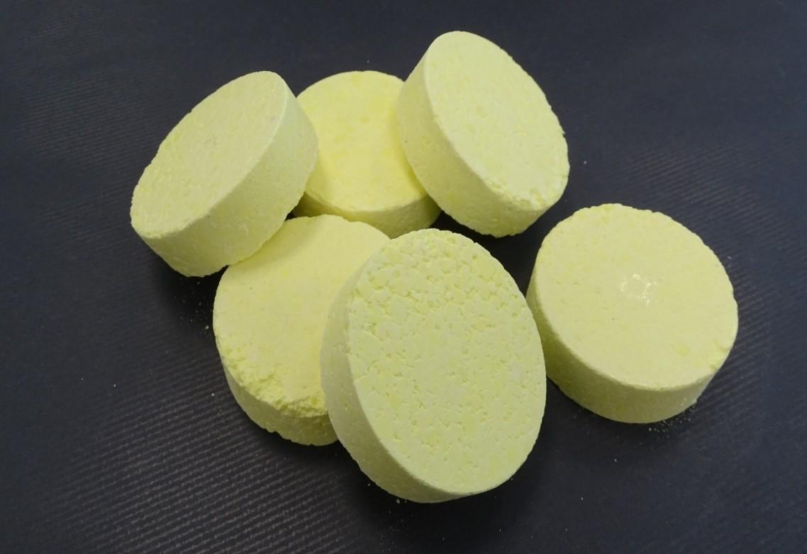 AFEPASA Greenhouse Sulphur Tablets: pastillas de azufre puro (99,9%) para evaporadores en invernaderos