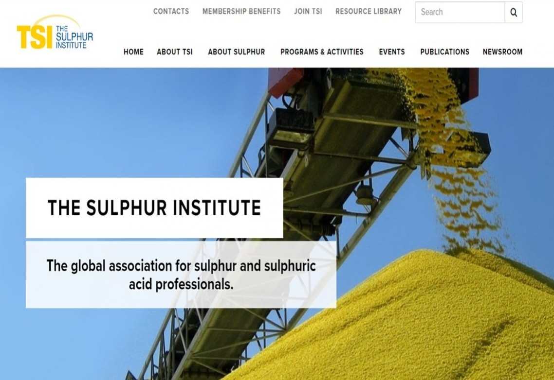 AFEPASA se une a The Sulphur Institute
