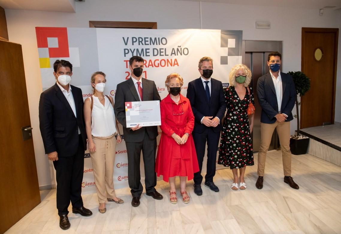 AFEPASA, Premio PYME del Año 2021 en Tarragona en la categoría de Internacionalización